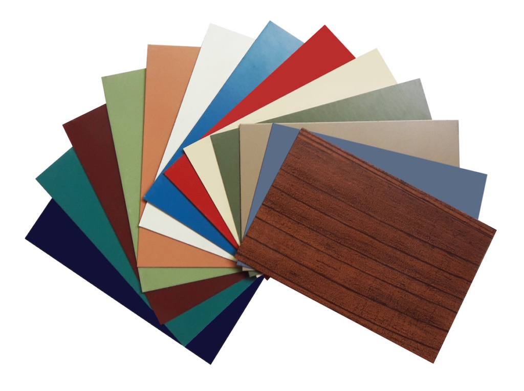 WCL Roofing colour samples